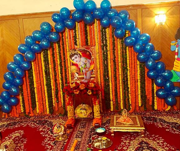 Simple Decoration Ideas for Krishna Janmashtami Courtesy of Hema ...