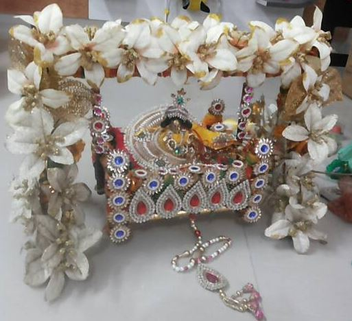 Decoration Ideas For Krishna Janmashtami Pooja Room