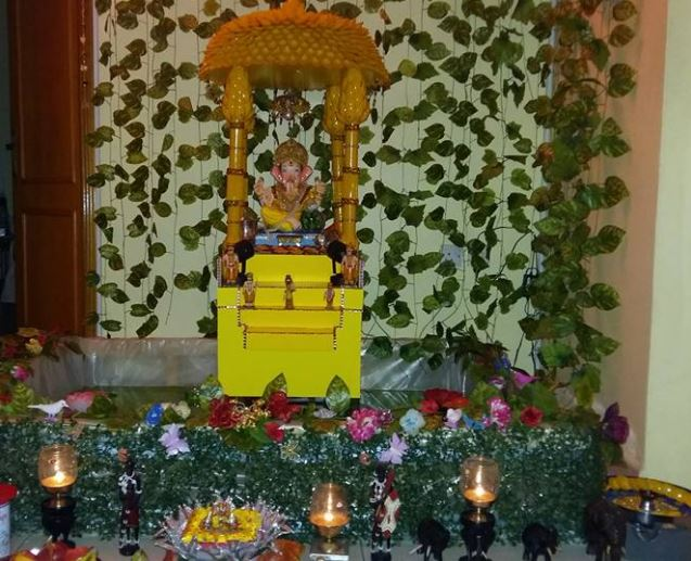 Homemade Ganpati Decoration Ideas Ganesh Chaturthi Decoration Ideas
