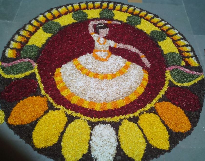 Pookalam Designs for Onam