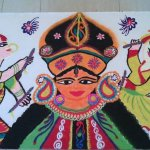 15 Navratri Rangoli Designs that You Need to See