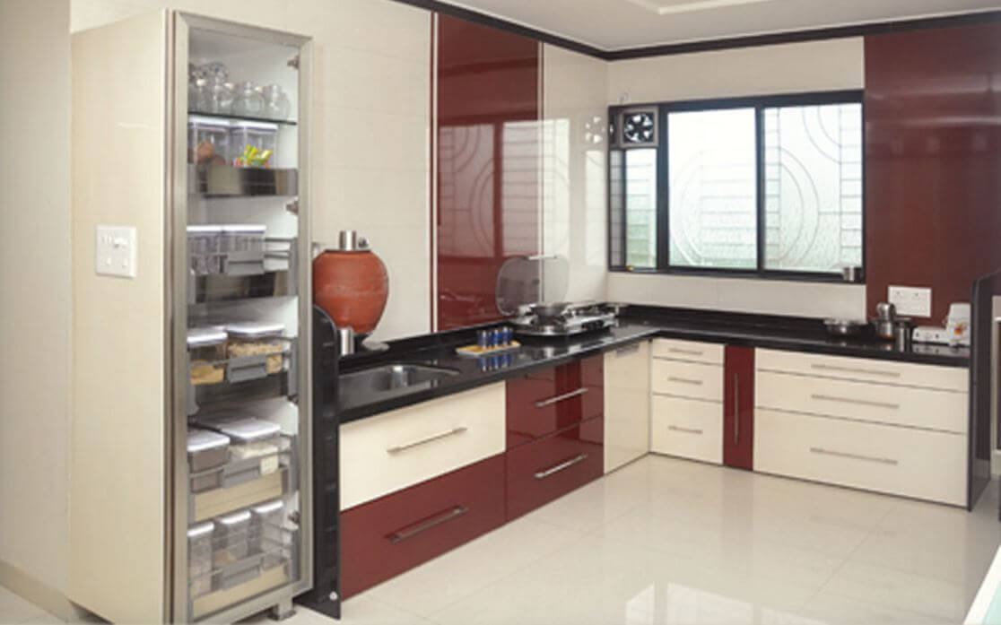 Indian style kitchen design kitchen modular kitchen for Small indian kitchen design