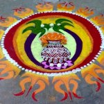 Pongal Kolam Designs and Sankranti Rangoli Patterns