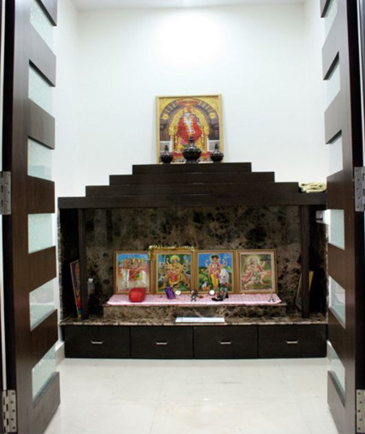Design Of Pooja Room Within A House - Pooja Room