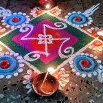 25 Must Try Rangoli for Diwali 2017