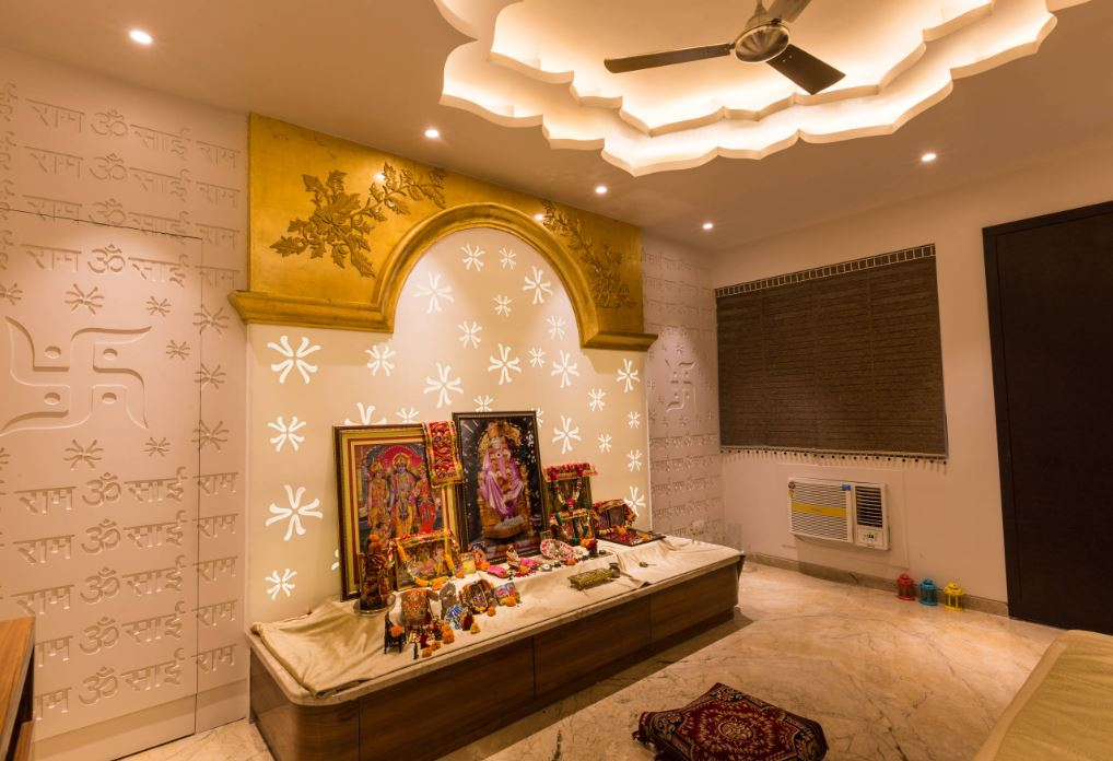 Interior Design For Pooja Room Wall Units 4 Pooja Room And Rangoli